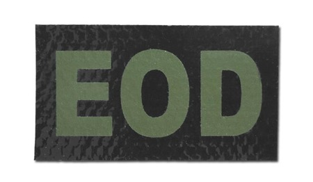 Combat-ID - Patch EOD - Black - Gen II