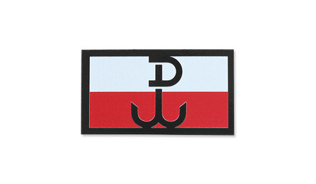 Combat-ID - Patch Poland Kotwica - Small - Color - Gen II IR