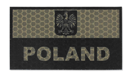 Combat-ID - Patch Poland - Large - Coyote Tan - Gen I - A1