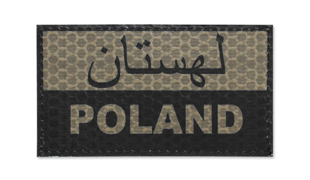 Combat-ID - Patch Poland - Persian - Coyote Tan - Gen I