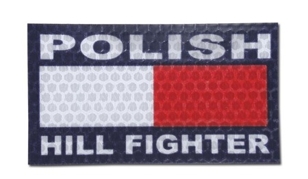 Combat-ID - Patch Polish Hill Fighter - Color - Gen I