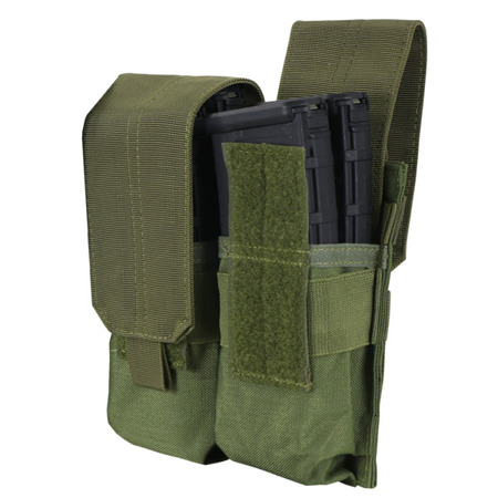 Condor - Double M4, M16 Mag Pouch - Coyote Brown - MA4-498