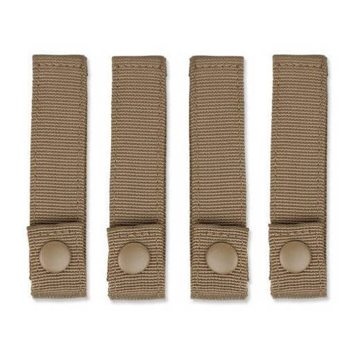 Condor - MOD Strap 4'' - 4 pcs - Coyote Brown - 223-498