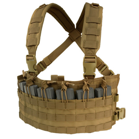 Condor - Rapid Assault Chest Rig - Coyote Brown - MCR6-498