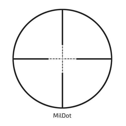 Delta Optical - Scope Titanium 6-24x42 MilDot - DO-2415