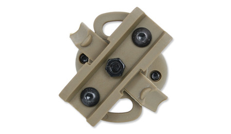 EMERSON - FAST Helmet Rail Clamp - TAN