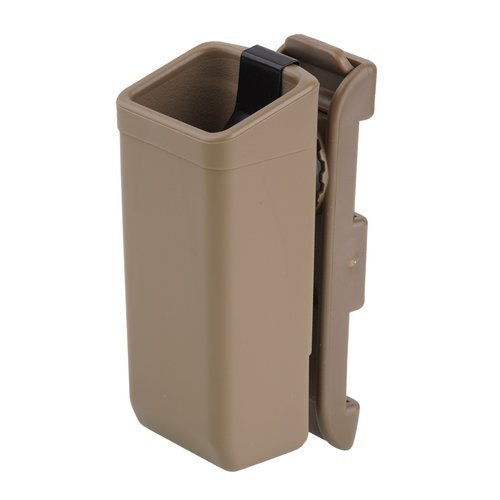 ESP - Plastic Holder for Double Stack 9mm Magazine - Khaki - MH-44
