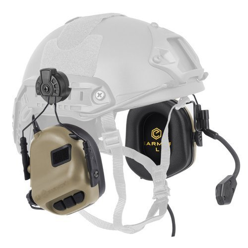 Earmor - Earmor - M32 Tactical Communication Headset for Helmets - Coy