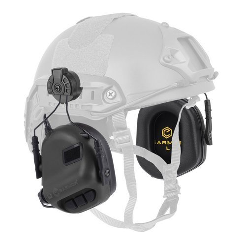 Earmor - Hearing Protection Earmuff for Helmets M31H Mod 1 - Black