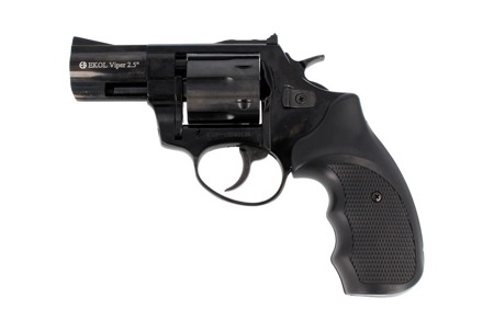 "Ekol - Blank Firing Revolver Viper 2.5"" K-6L Black - 6mm long"