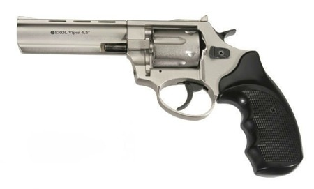 "Ekol - Blank Firing Revolver Viper 4,5"" K-6L Satin - 6mm long"