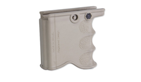 FAB Defense - MG-20 Front Grip with Magazine Holder for M16/M4/AR15 - Flat Dark Earth