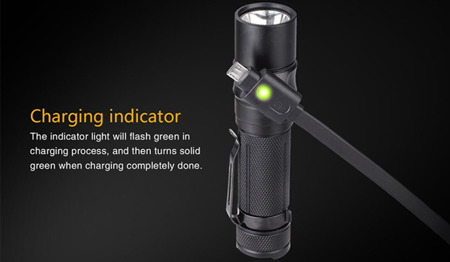 Fenix - RC11 Rechargeable Flashlight - 1000 lumens - 039-257