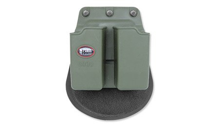 Fobus - Pouch for 2 magazines - 9mm - Glock, USP - OD Green - 6900G