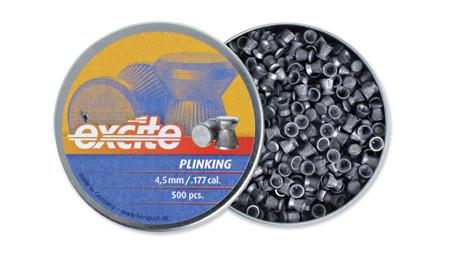H&N - Pellets Diabolo Excite Plinking - 500 pcs. - 4,5 mm