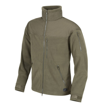 Helikon - Classic Army Fleece Jacket - Olive Green - BL-CAF-FL-02