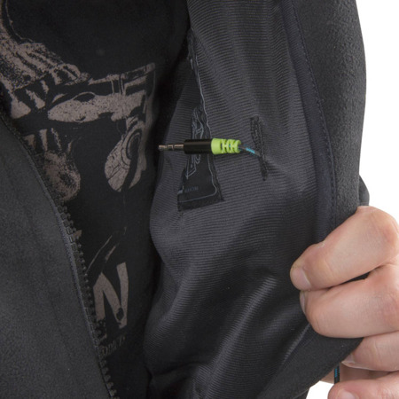 Helikon - Classic Army Fleece Jacket - Olive Green/Black - BL-CAF-FL-16