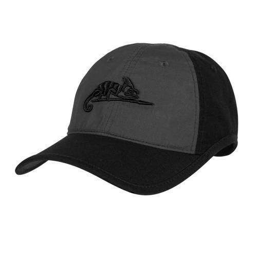 Helikon - Logo Cap - Black / Shadow Grey - CZ-LGC-PR-0135B