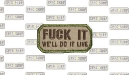 MIL-SPEC MONKEY - Morale Patch - Do It Live - Multicam