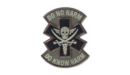 MIL-SPEC MONKEY - Morale Patch - Do No Harm Pirate - Forest