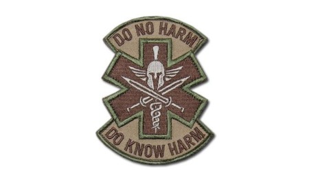 MIL-SPEC MONKEY - Morale Patch - Do No Harm Spartan - Multicam