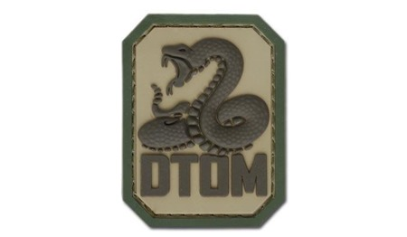 MIL-SPEC MONKEY - Morale Patch - Don't Tread on Me - PVC - Multicam