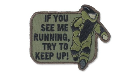 MIL-SPEC MONKEY - Morale Patch - EOD Running - Forest