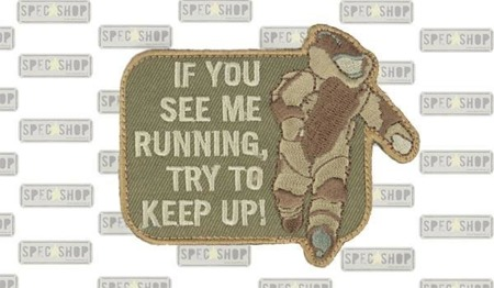 MIL-SPEC MONKEY - Morale Patch - EOD Running - Multicam
