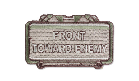 MIL-SPEC MONKEY - Morale Patch - Front Toward Enemy - Multicam