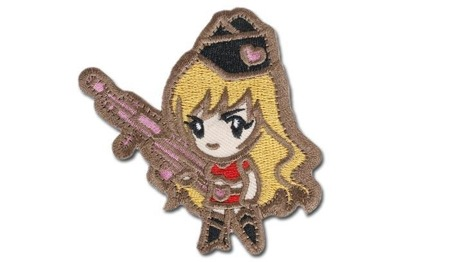 MIL-SPEC MONKEY - Morale Patch - Gun Girl1 - Subdued