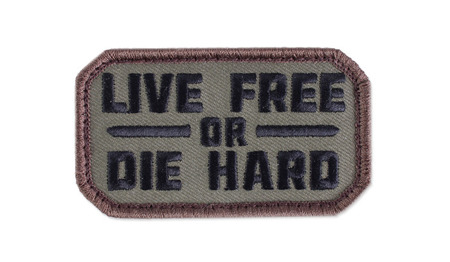 MIL-SPEC MONKEY - Morale Patch - Live Free - Forest