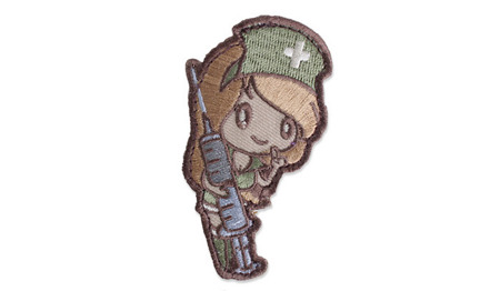 MIL-SPEC MONKEY - Morale Patch - Nurse Girl - Multicam