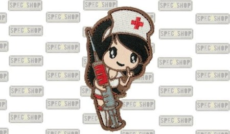 MIL-SPEC MONKEY - Morale Patch - Nurse Girl - Subdued