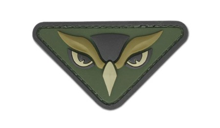 MIL-SPEC MONKEY - Morale Patch - Owl Head  - PVC - Multicam