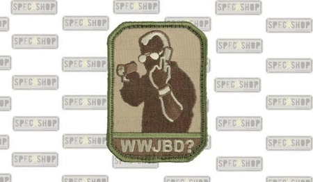 MIL-SPEC MONKEY - Morale Patch - WWJBD? - Arid