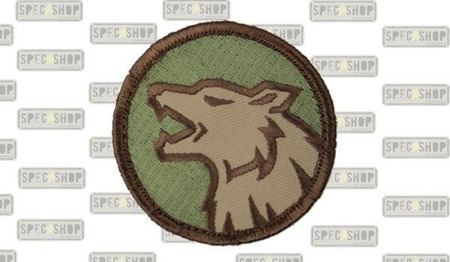 MIL-SPEC MONKEY - Morale Patch - Wolfhead - Multicam