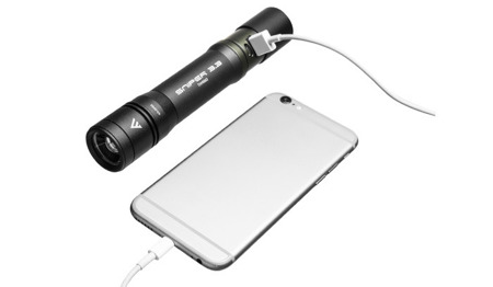 Mactronic - Rechargeable Flashlight Sniper 3.3 with Focus and Power Bank - 1000 lm - THH0063
