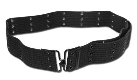Mil-Tec - Belt LC1 - Metal Buckle - Black - 13315002