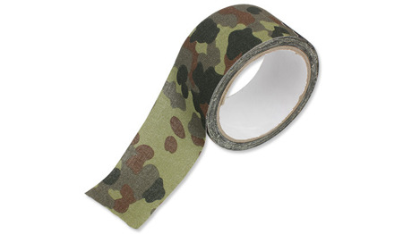 Mil-Tec - Cloth Camo Tape - Flecktarn - 15934021