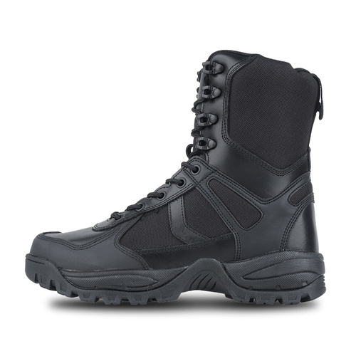 Mil-Tec - Patrol One Zip Tactical Boots - Black - 12822302