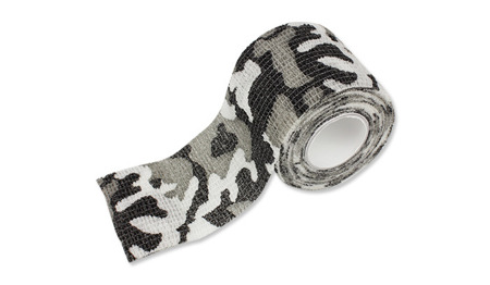 Mil-Tec - Self Adhesive Camo Tape - Snow Camo - 15933052