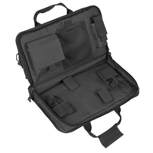 Mil-Tec - Tactical Pistol Case - Large - Black - 16194402