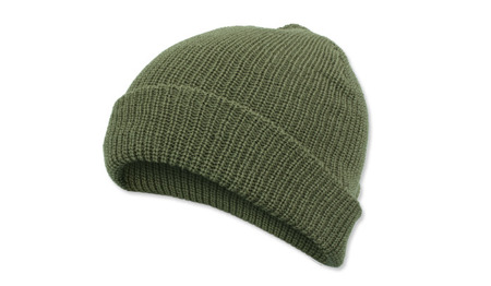 Mil-Tec - Watch Cap - 100% Wool - OD Green - 12140001