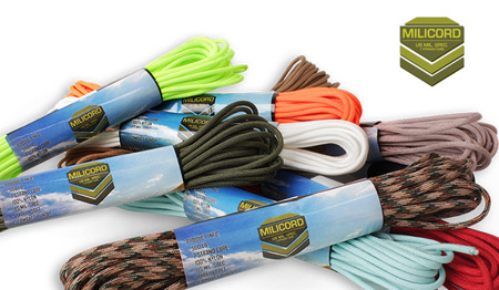 Milicord - Paracord 500-7 - 4 mm - Light Blue - 10 m
