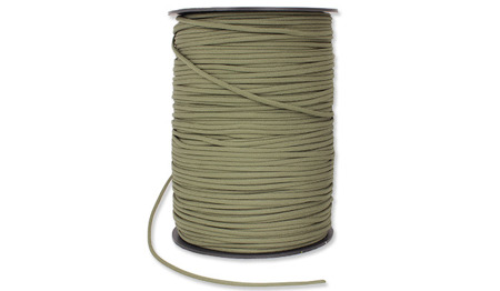 Milicord - Paracord 500-7 - 4 mm - Olive - Spool 1000ft