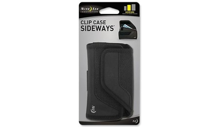 Nite Ize - Clip Case Sideways - Medium - Black - CCSM-03-01
