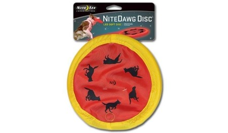 Nite Ize - Nite Dawg LED Soft Disc - Red - NDD-03-50