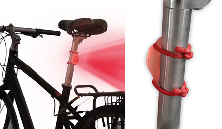 Nite Ize - TwistLit LED Bike Light - Disc-O - TLT-03-07