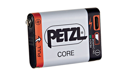 Petzl - Headlamp ACTIK CORE - HYBRID - Black - E99ABA
