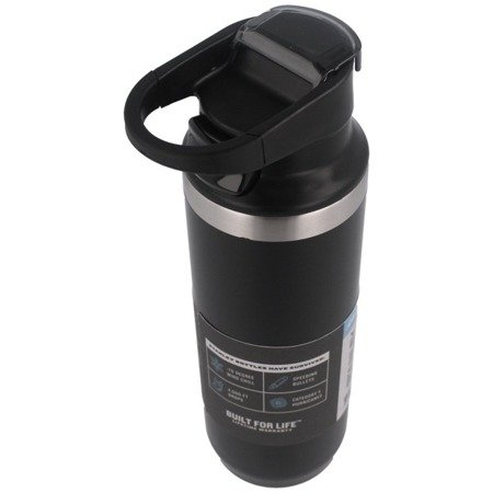 Stanley - Mountain Vacuum Switchback Mug - 473 ml - Black - 10-02285-021